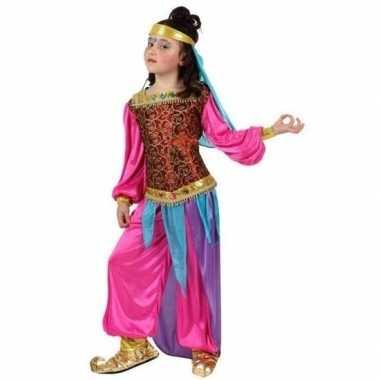 1001 nacht arabisch verkleedkleding suheda roze voor meisjes