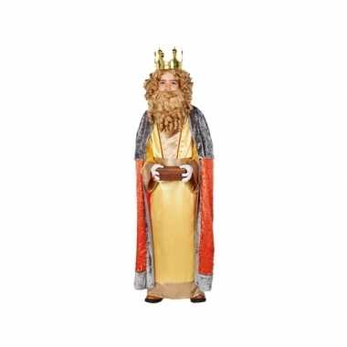 3 koningen verkleedkleding casper voor kids