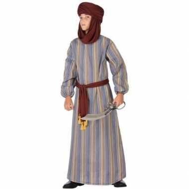 Ali 1001 nacht arabieren verkleedpak voor jongens