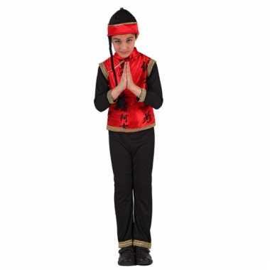 Aziatisch verkleedkleding voor jongens