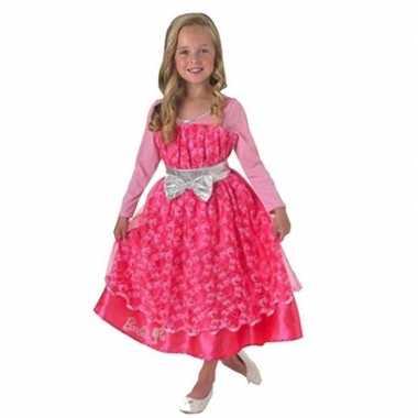 Barbie verkleedkleding roze voor kinderen