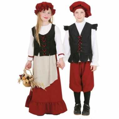 Boerinnen verkleedkleding voor meisjes