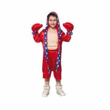 Bokser verkleedkleding voor kinderen