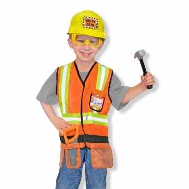 Bouwvakker verkleedkleding voor kids