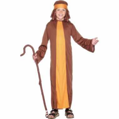 Bruin herders verkleedkleding voor kids