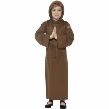 Bruin monnik verkleedkleding voor kinderen