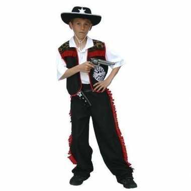 Carnaval cowboy pak voor jongens