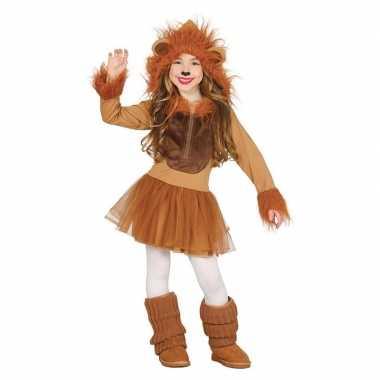 Carnavalskleding leeuw verkleedkleding voor meisjes