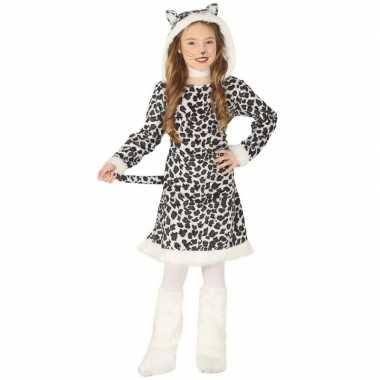 Carnavalskleding luipaard verkleedkleding voor meisjes