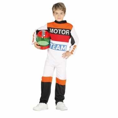 Carnavalskleding motorrijder verkleedkleding voor jongens/meisjes