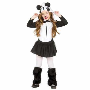 Carnavalskleding panda verkleedkleding voor meisjes