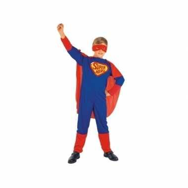 Cartoon superheld verkleedkleding voor kinderen