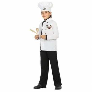 Chef kok uniform verkleedkleding voor jongens