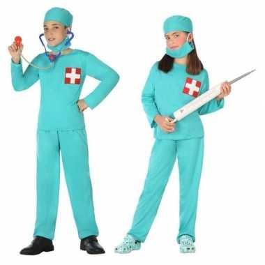 Chirurg/dokter uniform verkleedkleding voor jongens en meisjes