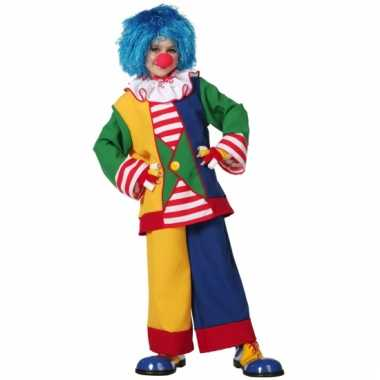 Clown verkleedkleding kind
