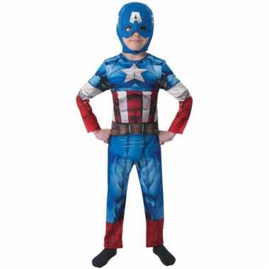 Compleet captain america verkleedkleding for kids