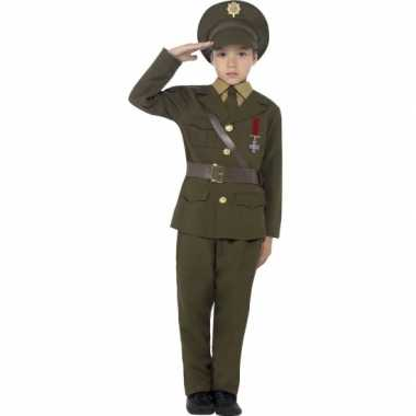 Compleet officieren verkleedkleding voor kids