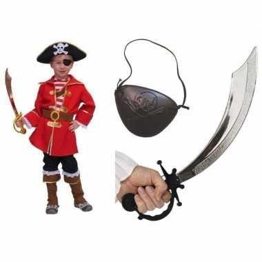 Compleet piraten pakje voor kinderen