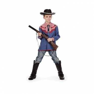 Cowboy overhemd voor kinderen