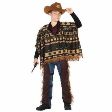 Cowboy/western verkleedkleding voor jongens