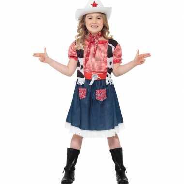 Cowgirl verkleedkleding meisjes
