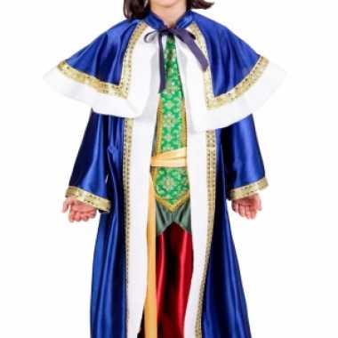 De drie wijzen blauw verkleedkleding voor kinderen