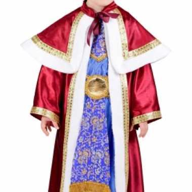 De drie wijzen rood verkleedkleding voor kinderen