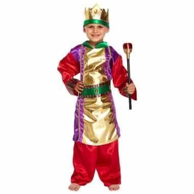 Drie wijzen kerst verkleedkleding voor kinderen