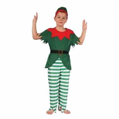 Elf verkleedkleding met hoedje voor jongens