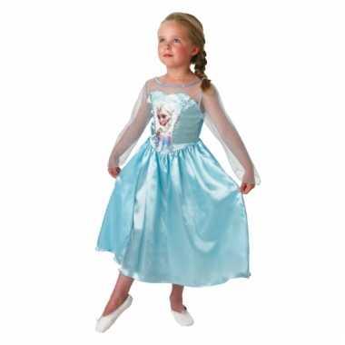 Elsa frozen verkleedkleding voor kinderen