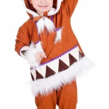 Eskimo verkleedkleding voor jongens