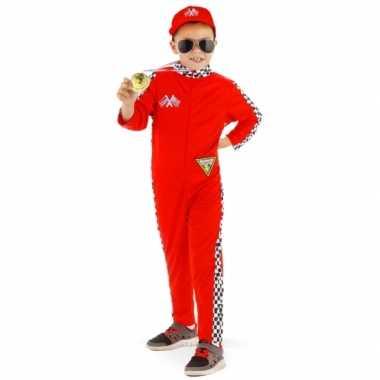 Formule 1 verkleedkleding voor kinderen