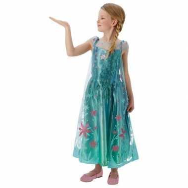 Frozen fever elsa carnavals verkleedkleding kids