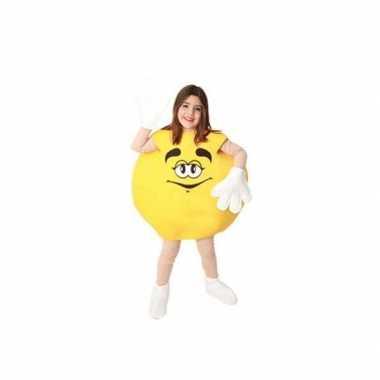 Gele snoep feestkleding kinderen
