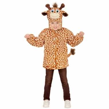 Giraffe verkleedkleding trui voor kinderen