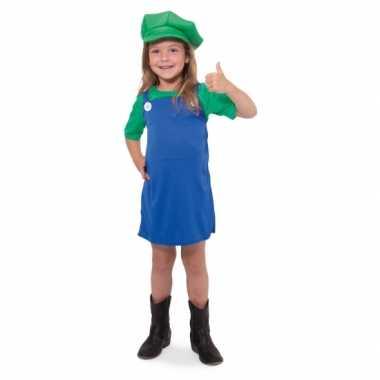 Groene loodgieter verkleedkleding voor meisjes