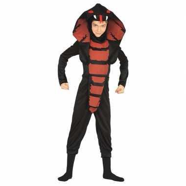 Halloween jongens verkleedkleding cobra slang
