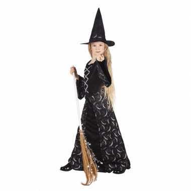 Halloween meisjes heksen verkleedkleding kid midnight