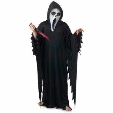 Halloween scream verkleedkleding voor kinderen