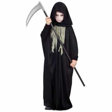 Halloween zwarte cape kinderen