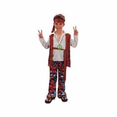 Hippie verkleedkleding jongens