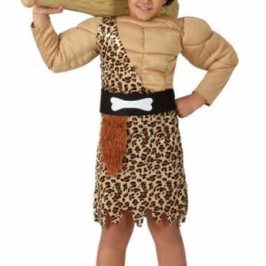 Holbewoner verkleedkleding voor jongens