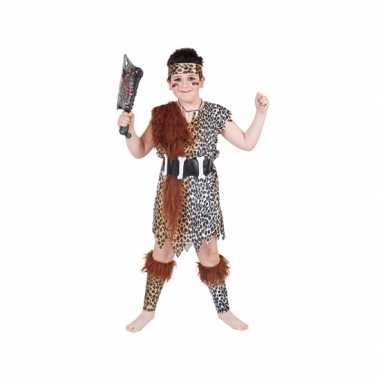 Holbewoner verkleedkleding voor kinderen