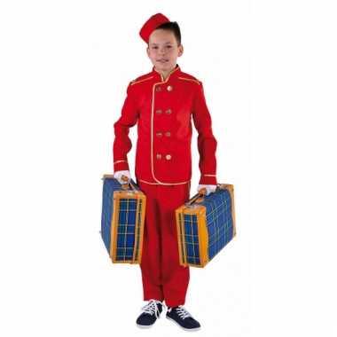 Hotelbediende verkleedkleding voor kinderen