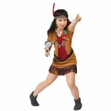 Indiaans meisje verkleedkleding eagle