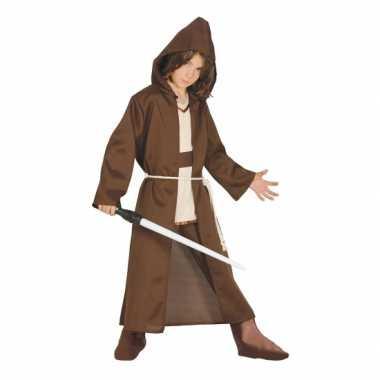 Jedi meester look a like verkleedkleding voor kids