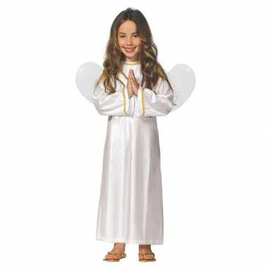 Kerst engelen verkleedkleding met vleugels voor meisjes