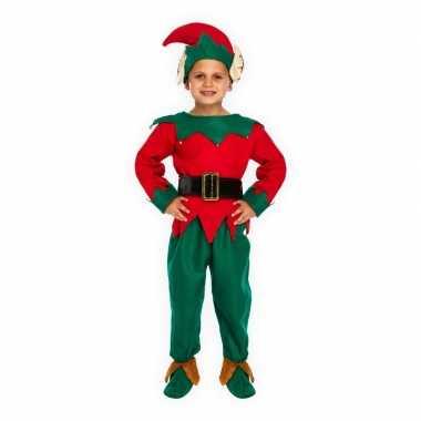 Kerst verkleedkleding elf voor kinderen