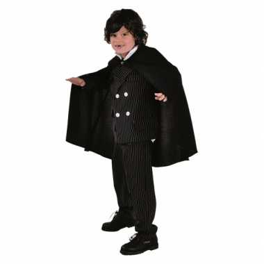 Kinder dracula cape zwart