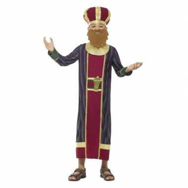 Koning balthazar kerst verkleedkleding voor jongens